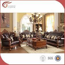 canapé style italien style italien canapé en cuir set salon meubles a90 autres meubles