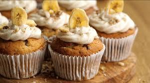 Maple Banana Cupcakes