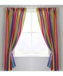 Noise Reducing Curtains Uk by Buy Colourmatch Kids U0027 Stripe Blackout Curtains 168 X 137cm At