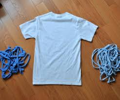T Shirt Into Continuous Yarn 4 Steps with
