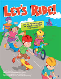 Lets Ride Coloring Book Cover