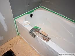 installing the ceramic tile tub surround my house ibuildit ca
