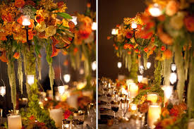 Image Of Fall Wedding Decoration Ideas Stylish
