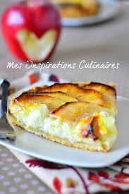 cuisine tarte aux pommes tarte aux pommes à la crème pâtissière le cuisine de samar