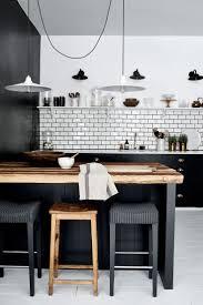 White Black Kitchen Design Ideas by Best 25 Black Kitchen Decor Ideas On Pinterest Modern Kitchen