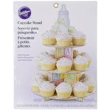 Wilton Baby Shower Cupcake Stand Unisex Baby Shower Centerpiece