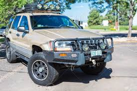 Denver, Colorado, USA-July 7, 2016. Custom Built Off Road Truck ... Diy Fj Cruiser Roof Rack Axe Shovel And Tool Mount Climbing Tent Camper Shell For Camper Shell Nissan Truck Racks Near Me Are Cap Roof Rack Except I Want 4 Sides Lights They Need To Sit Oval Steel Racks 19992016 F12f350 Fab Fours 60 Rr60 Bakkie Galvanized Lifetime Guarantee Thule Podium Kit3113 Base For Fiberglass By Trucks Lifted Diagrams Get Free Image About Defender Gadgets D Sris Systems Mounts With Light Bar Curt Car Extender