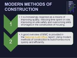 075 Modern Methods of Construction