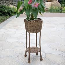 Outdoor Patio Plant Stands by Convenience Concepts Planters And Potts 4 Tier Plant Stand