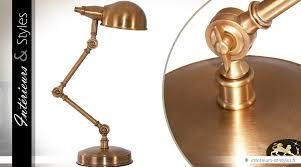 le bureau laiton le de bureau à bras articulé en laiton doré ancien 64 cm