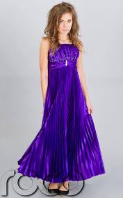 purple pageant dresses for girls girls purple pleated prom dress