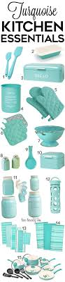 Turquoise Kitchen Decor And Gadgets