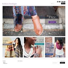 fashion shop landing page chrissy baptista