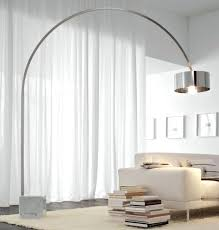 Target Floor Lamp With Shelves by Threshold Floor Lamp With White Shade And Glass Shelves Silver