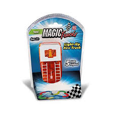 Details About Magic Tracks Kids Light-Up Fire Truck Toy Racing 5 LED Lights  MAGTRA-CAR-F