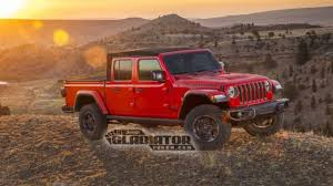 100 Jeep Truck 2020 Gladiator Pickup Images Official Specs Leak Online