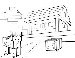 Minecraft Steve Coloring Pages With Armor