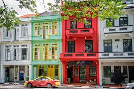 100 Singapore House Colorful Traditional Houses