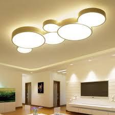 led ceiling light modern panel l lighting fixture living