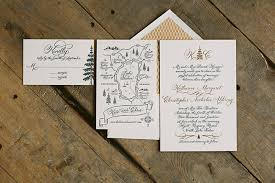 Elegant Yet Rustic Custom Wedding Invitations From Smock