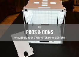 The Pros & Cons of Building Your Own graphy Light Box – SHOTBOX