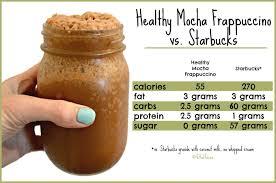Healthy Mocha Frappuccino