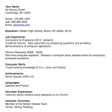 Business Writing Resumes Cover Letters