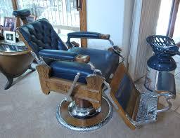 Koken Barber Chair Antique by Koken Oak Barber Chair