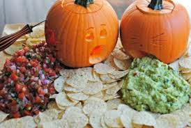 Vomiting Pumpkin Dip by 10 Unique Ideas To Spark Up Your Pumpkin Carving Game