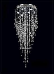 Chandelier Cool Faux Crystal Chandeliers Fake For Bedroom Black Background Light Hinging Sparkle