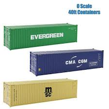 104 40 Foot Shipping Container 1pc O Scale Ft Model Railway 1 48 C43 Ebay