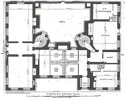 Highclere Castle Ground Floor Plan by The Servant U0027s Quarters In 19th Century Country Houses Like Downton