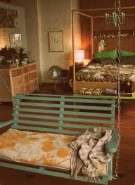 coole schlafzimmer einrichtung mit schaukel freshouse