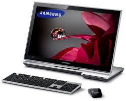 ordinateur de bureau tactile tout en un samsung dp700a3c s01fr all in one 23 pouces tactile dp700a3c s01fr