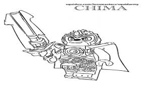 Download Coloring Pages Lego Chima Lennox