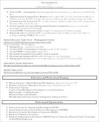 Trainer Resume Example Resources Administrator Hr Sample Summary Of Qualifications