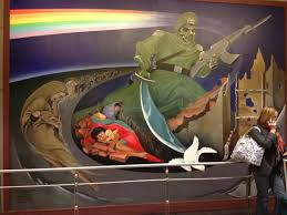 denver international airport bunker are the murals a conspiracy