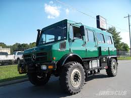 Mercedes-Benz UNIMOG U1550 CREW CAB 4X4 For Sale Little Rock ...