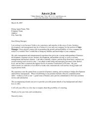 Format Of Business Sales Letter Copy Sample Sa