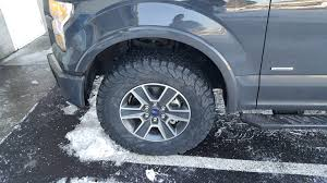 100 What Size Tires Can I Put On My Truck Biggest Tires Wo Lift W Stock Wheels For XLT SCREW Ford F150