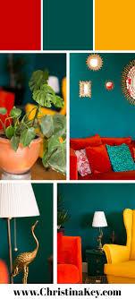 update wohnzimmer farbenfrohe einrichtung kreative