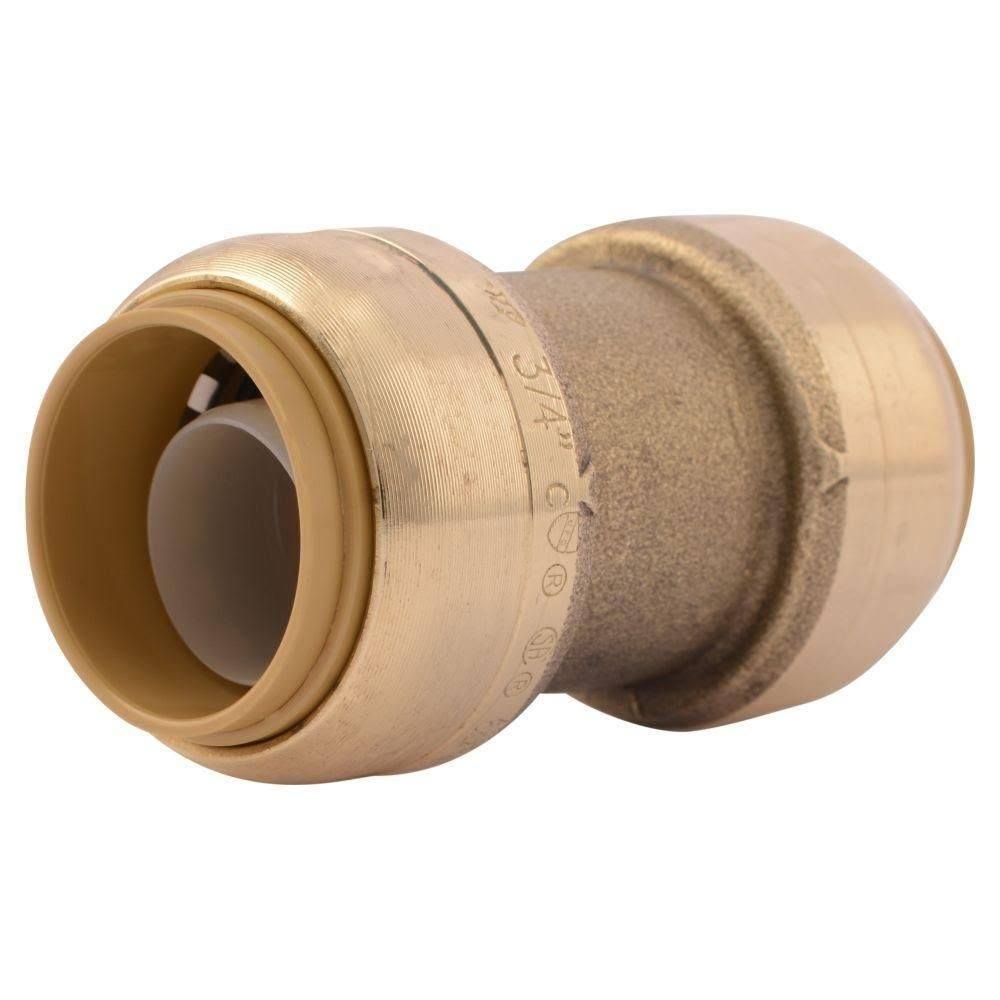 SharkBite Brass Push-to-Connect Coupling - 3/4''