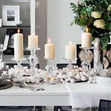 Simple Kitchen Table Centerpiece Ideas by 50 Stunning Christmas Table Settings U2014 Style Estate