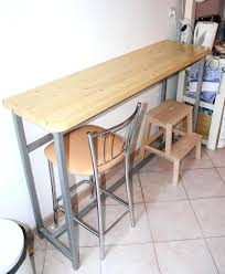 modele de table de cuisine modele de table de cuisine en bois cr ation d 39 une table bar