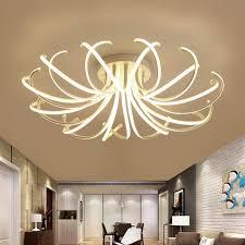 wohnzimmer schlafzimmer moderne led deckenleuchten weiße
