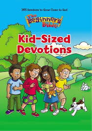 The Beginners Bible Kid Sized Devotions 9780310751427