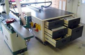Sawstop Cabinet Saw Outfeed Table by Adjustable Height Outfeed Cabinet Table By Newtim Lumberjocks