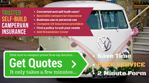 Compare Self Build Campervan Insurance Quotes