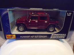 100 Hummer H2 Truck Maisto Special Edition 2001 SUT Concept 1 27 For Sale