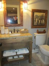 Small Rustic Bathroom Vanity Ideas by Splendid Rustic Bathrooms Ideas For Small Space Designs With Iron